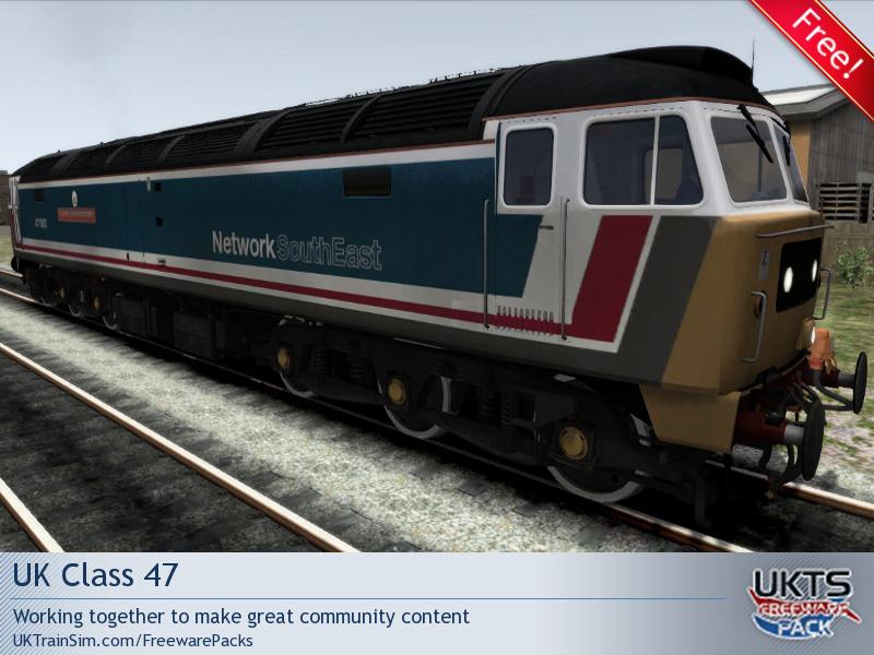 TrainSimDev com • Downloads - UKTS Freeware Pack - UK Class 47